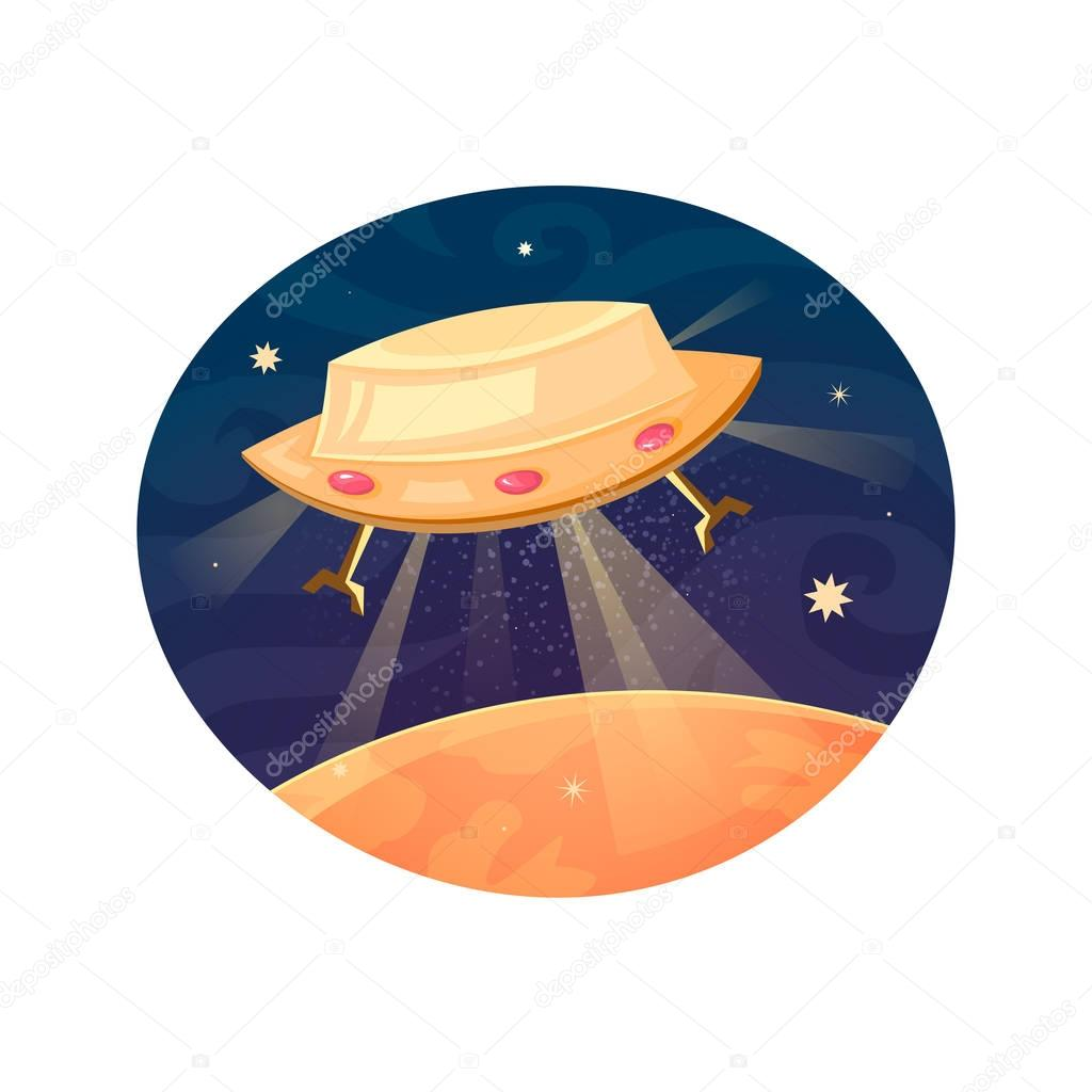 Unknown flying object icon