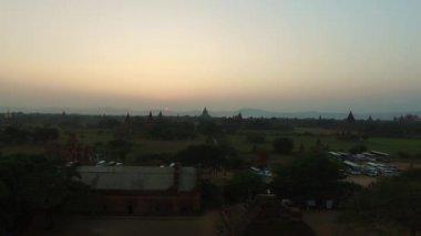 Sunset from temple Shwesandaw Pagoda, Bagan