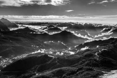 View From Maria Vittoria Torrani - Dolomites,Italy
