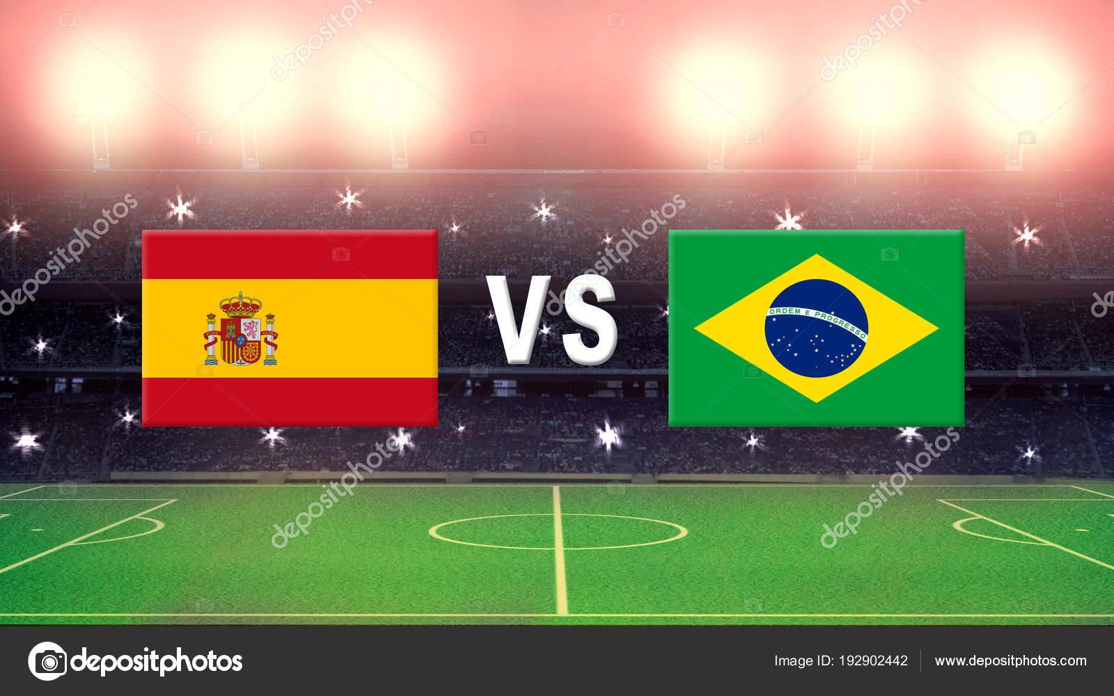 Бразилия против испания футбол
