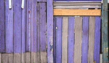 Violet wood texture