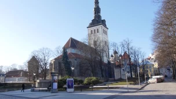 St. Nikolaus Kirche 9.2.2020 Tallinn, Estland Niguliste kirik ist eine mittelalterliche ehemalige Kirche, die dem Heiligen Nikolaus, dem Schutzpatron der Fischer und Seeleute, gewidmet ist.