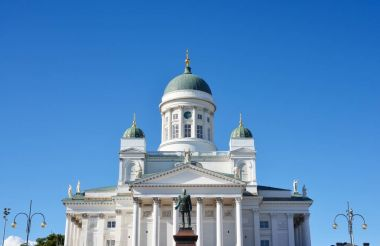 Helsinki cathedral view