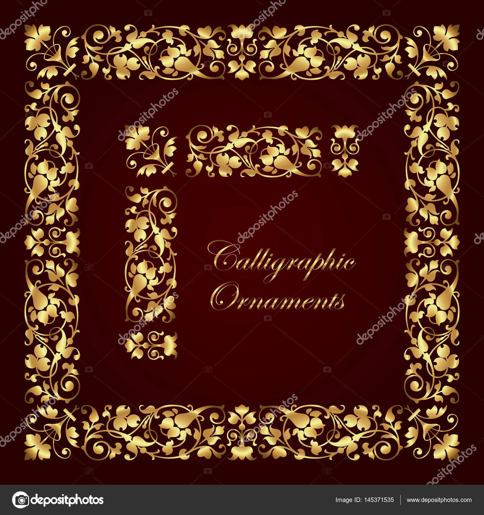 Marcos dorados para fotos marcos dorados imagui coleccin for Adornos para paginas
