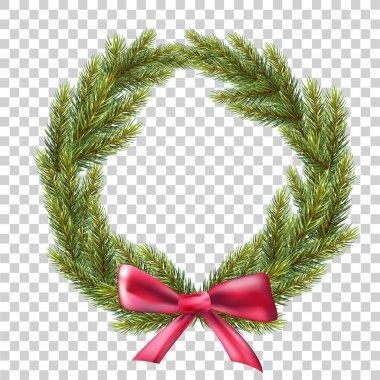 wreath of fir branches