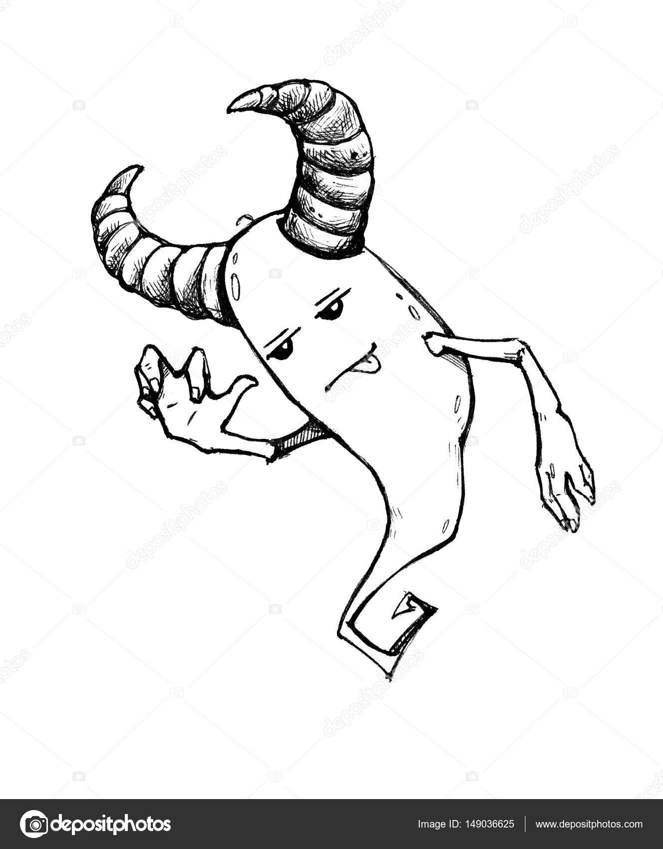 Dessin Sympa fantôme d'halloween sympa et amusant. personnage de dessin animé