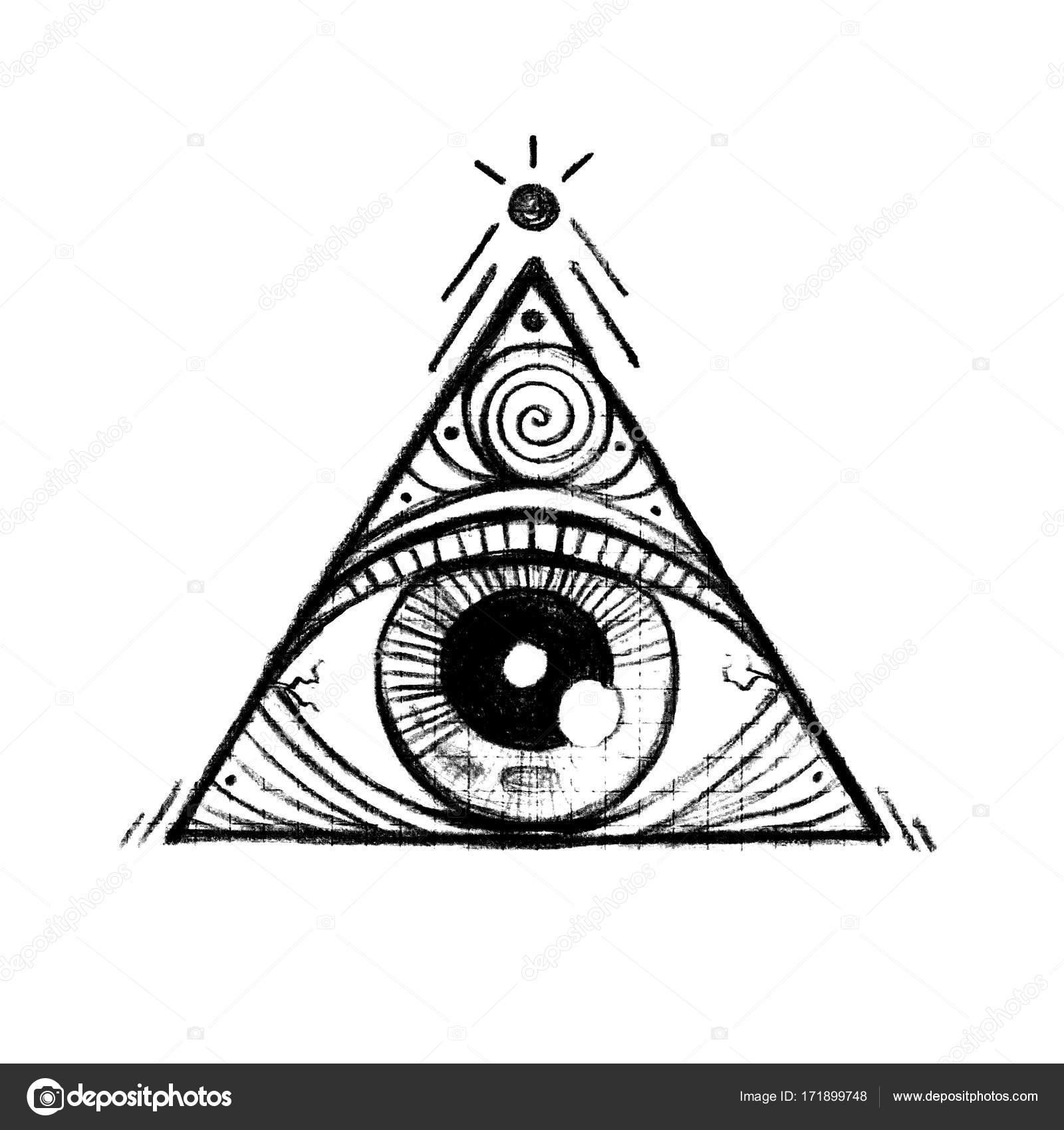 Une Pyramide Avec Un œil A L Interieur Photographie Siyaivo