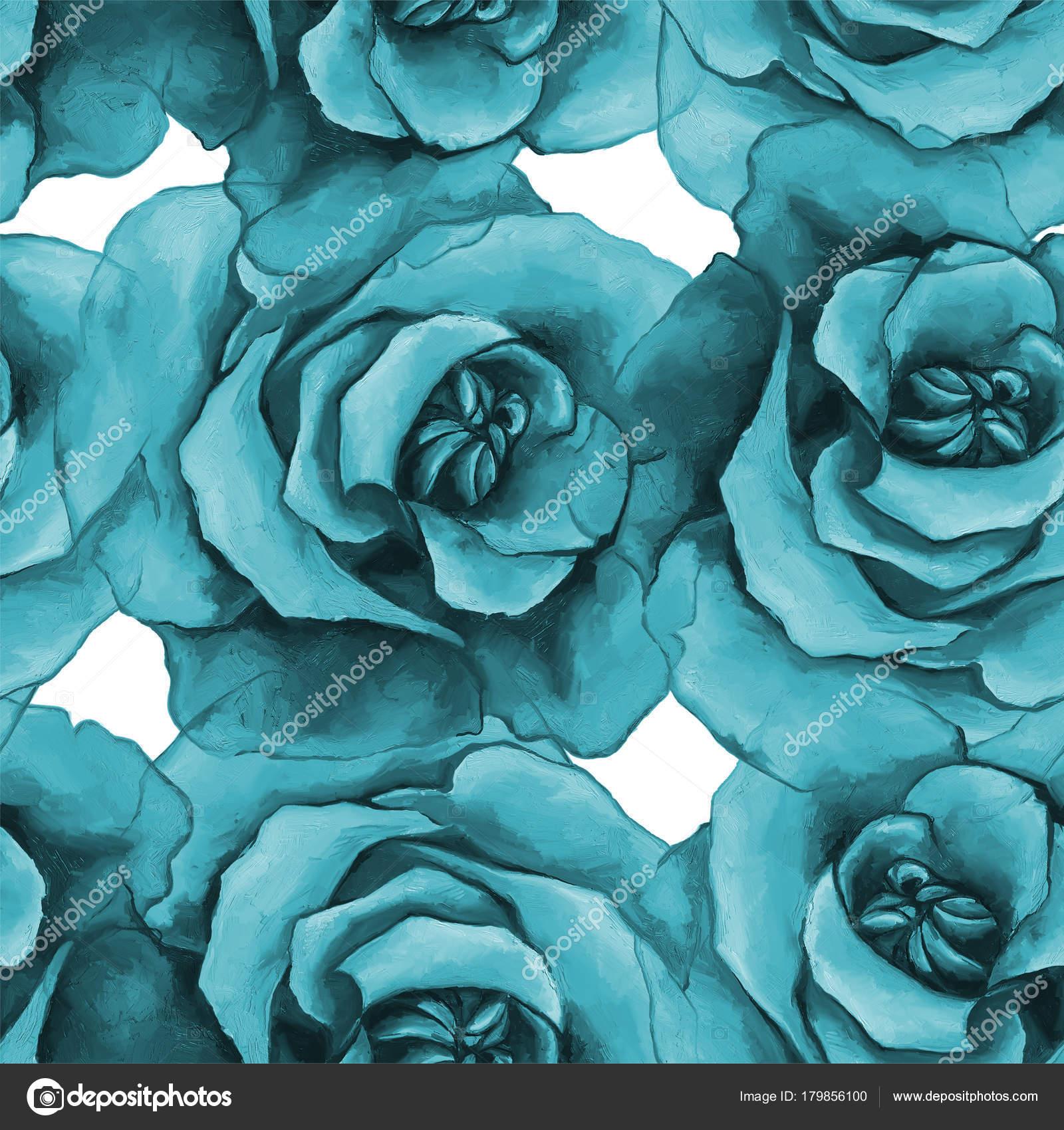 Fotos Rosas Negras Azules Textura Transparente Con Rosas Azules