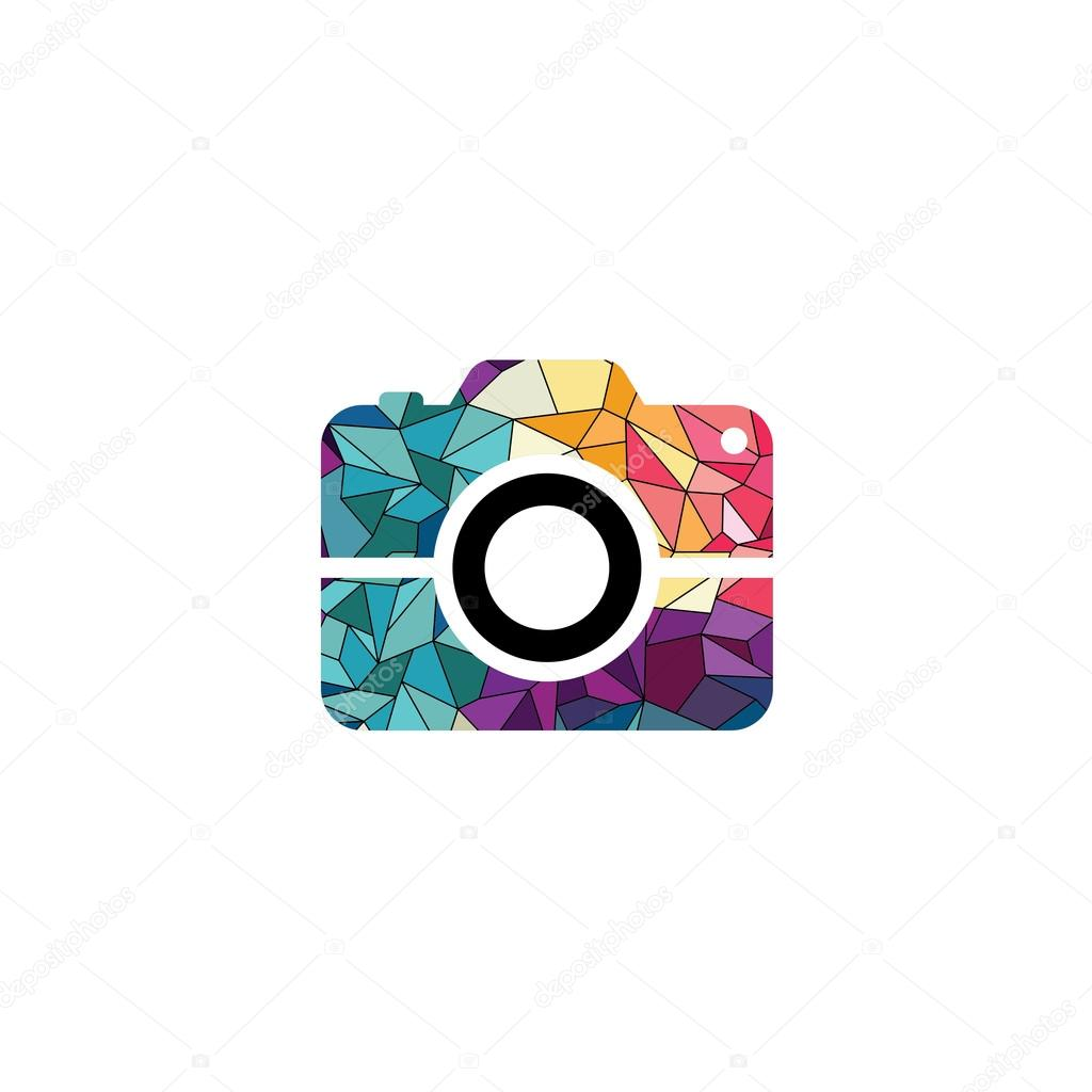 ᐈ Camera Logo Stock Images Royalty Free Colorful Camera Logo Download On Depositphotos