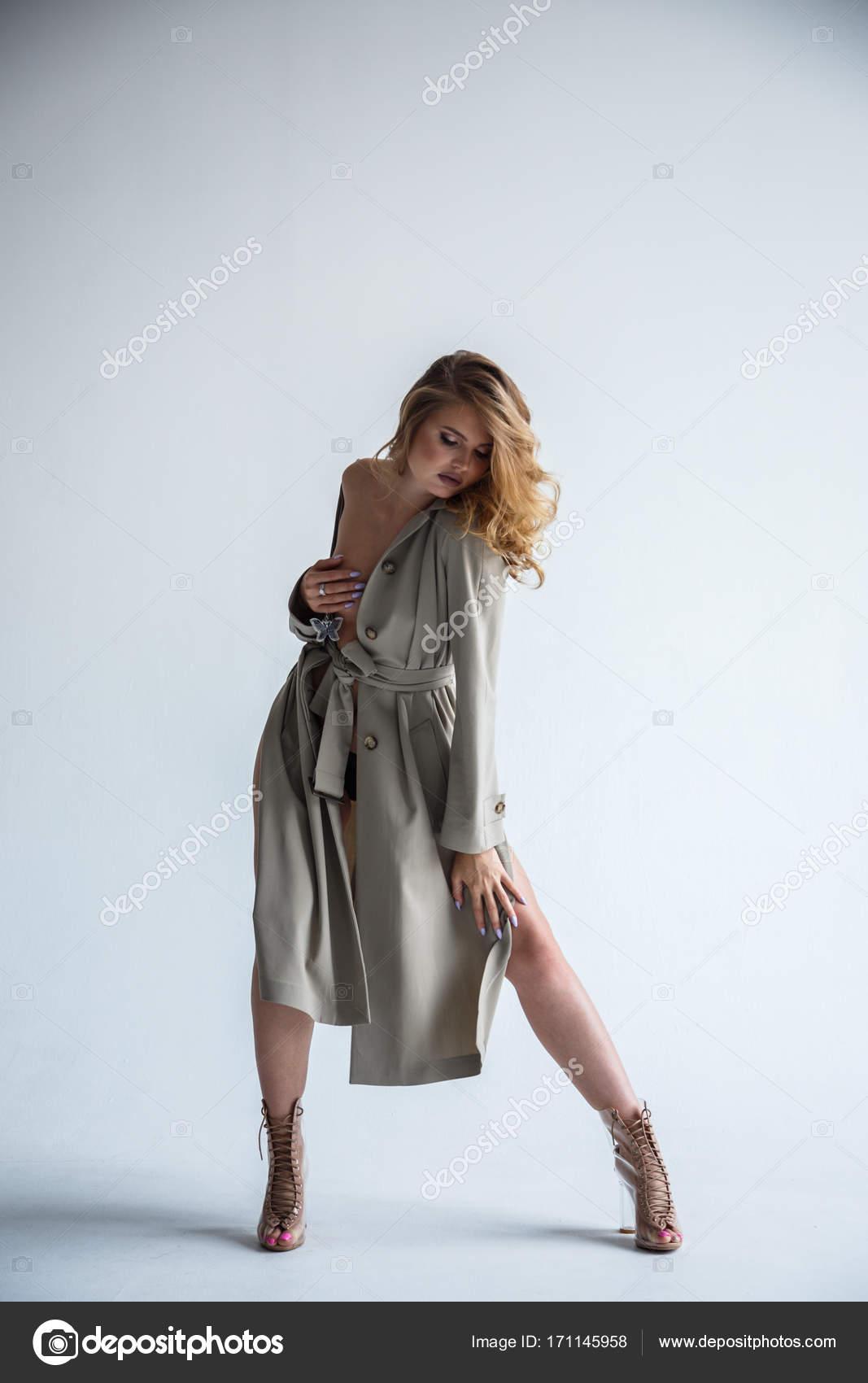 Mulher Pelada Elegante Em Vestido  Stock Photo -8318