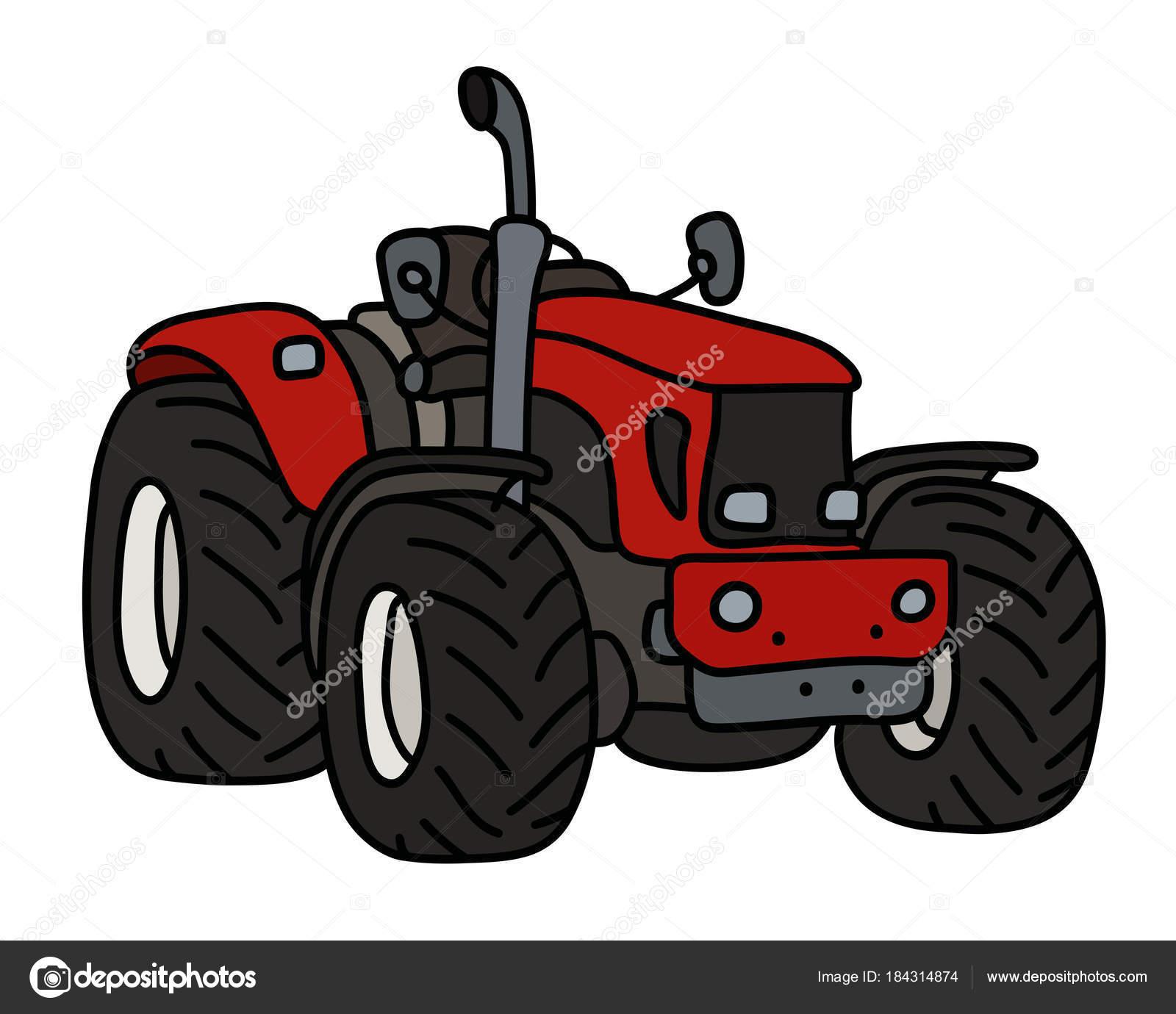 Dessin tracteur tondeuse simple tom gratuit tracteur tom - Jeu de tracteur agricole gratuit ...