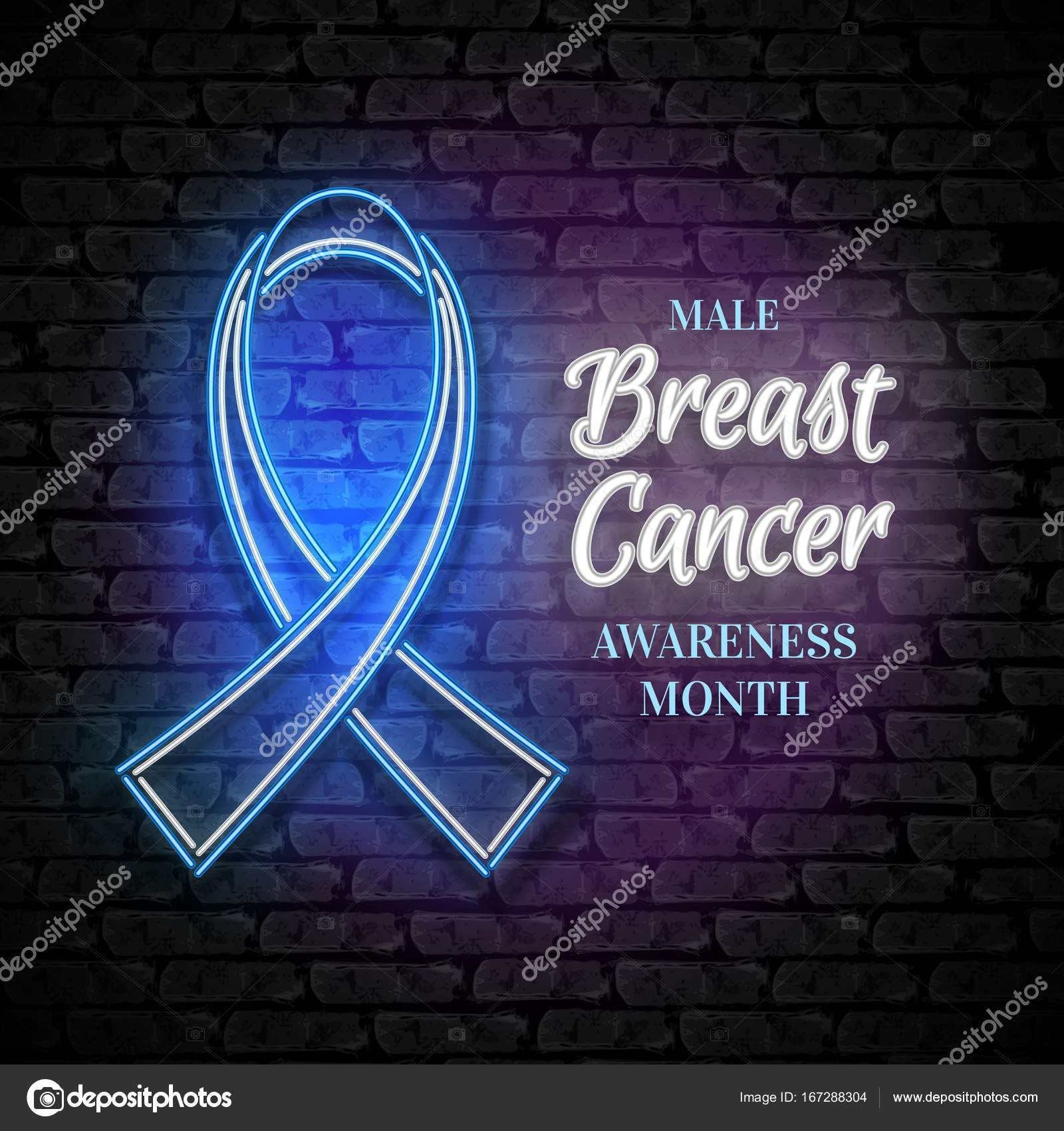 Male breast cancer awareness month emblem blue ribbon symbol male breast cancer awareness month emblem blue ribbon symbol stock vector biocorpaavc Choice Image