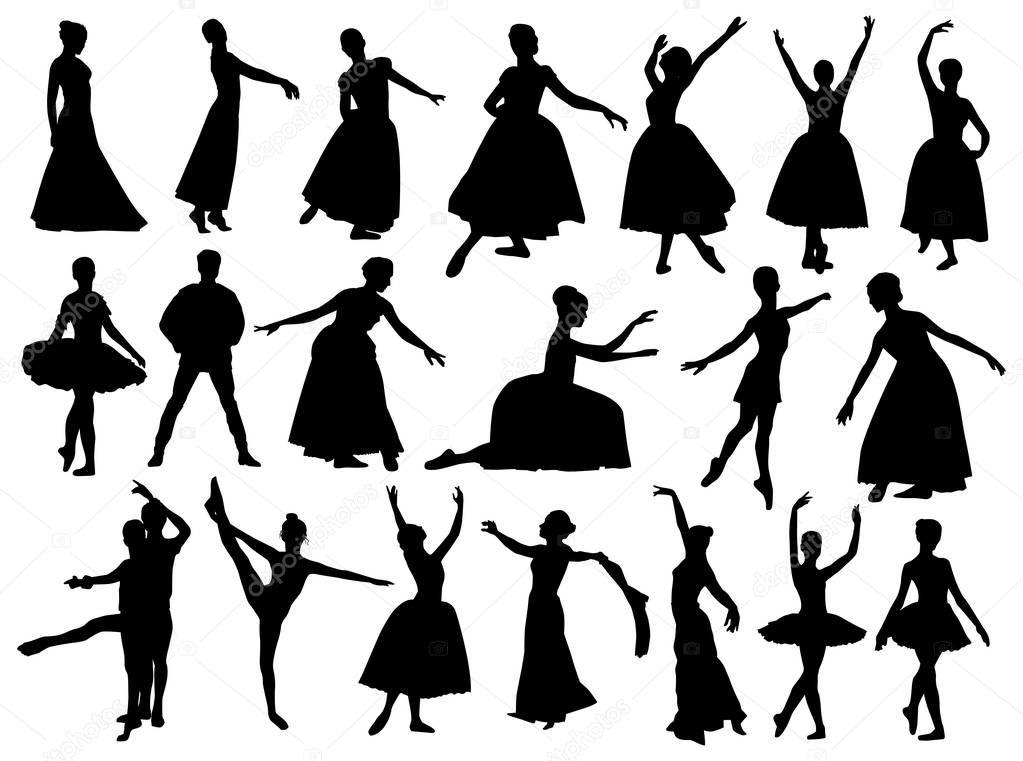 Sombras De Bailarinas Clasicas