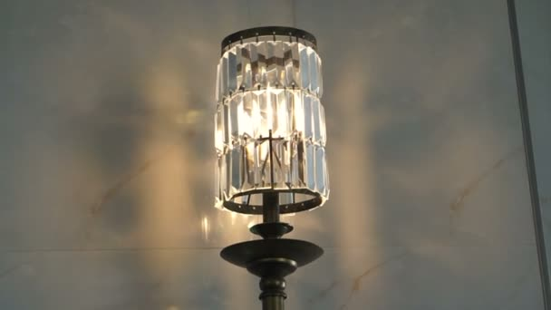 Decorazione di interni classico cristallo parete lampada