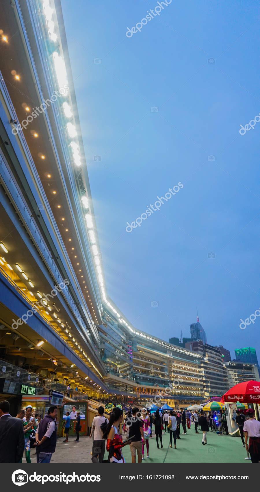 Shatin Hong Kong Mayo De 2017 Estadio De Hong Kong Jockey Club Para
