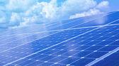 Fotografie Obnovitelná energie zelené energie solární instalace na střeše