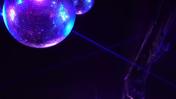Night club disco abstract scene