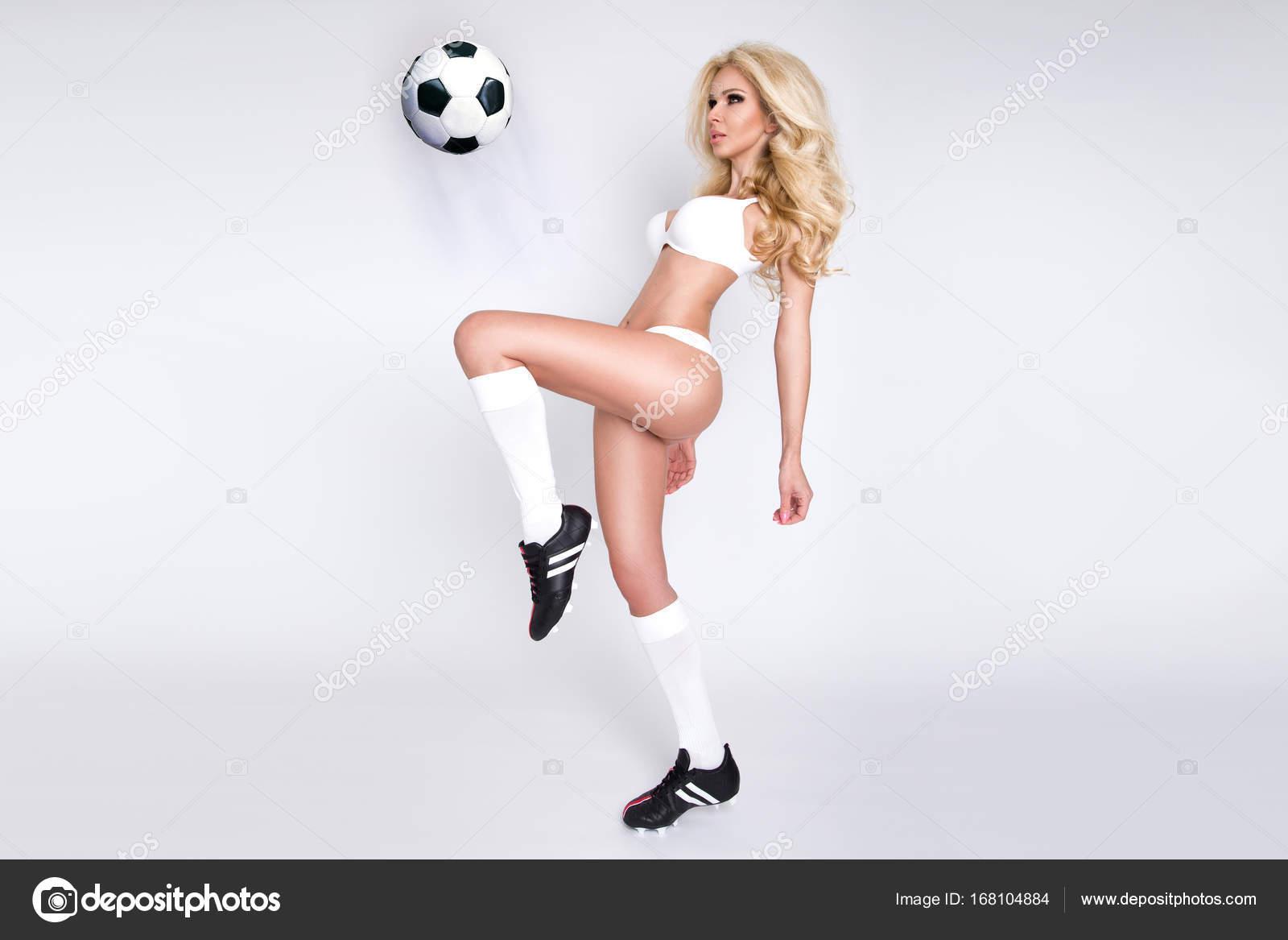 Girls in soccer socks having sex