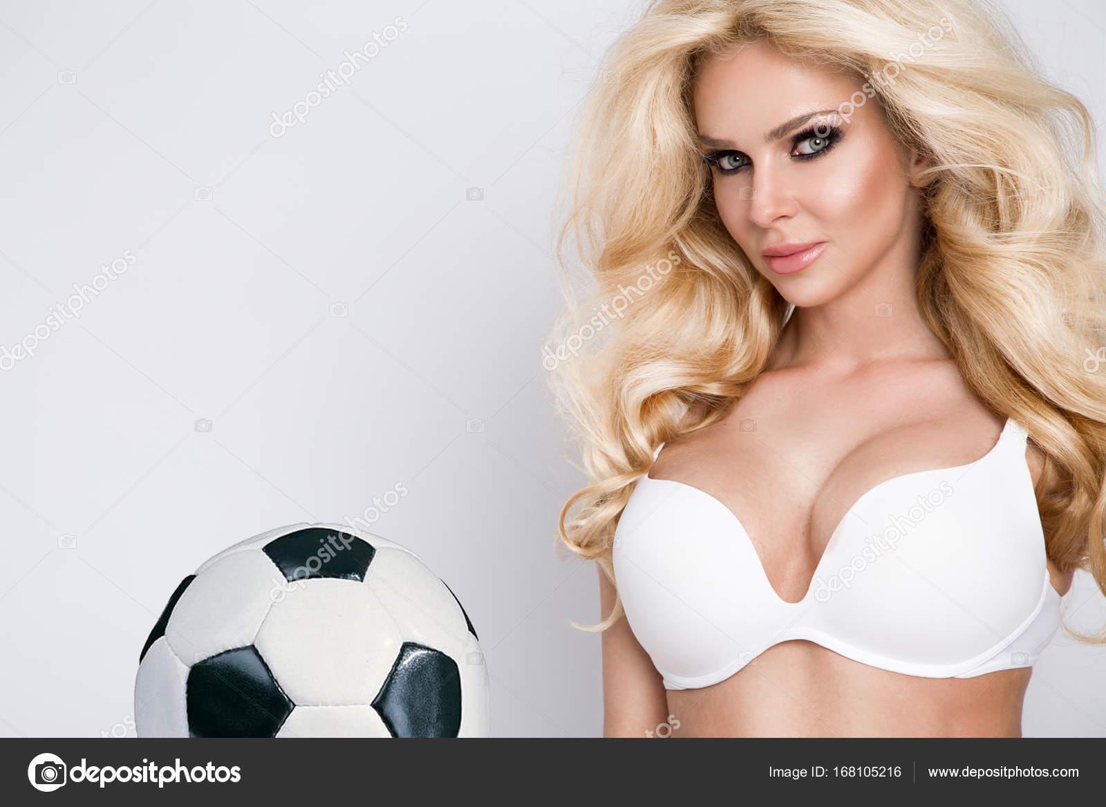 Sex bei einem Fußballspiel