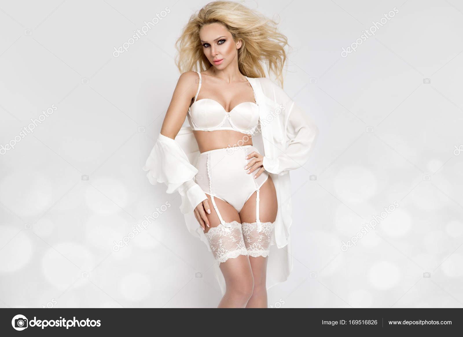 Elegant white wedding lingerie final