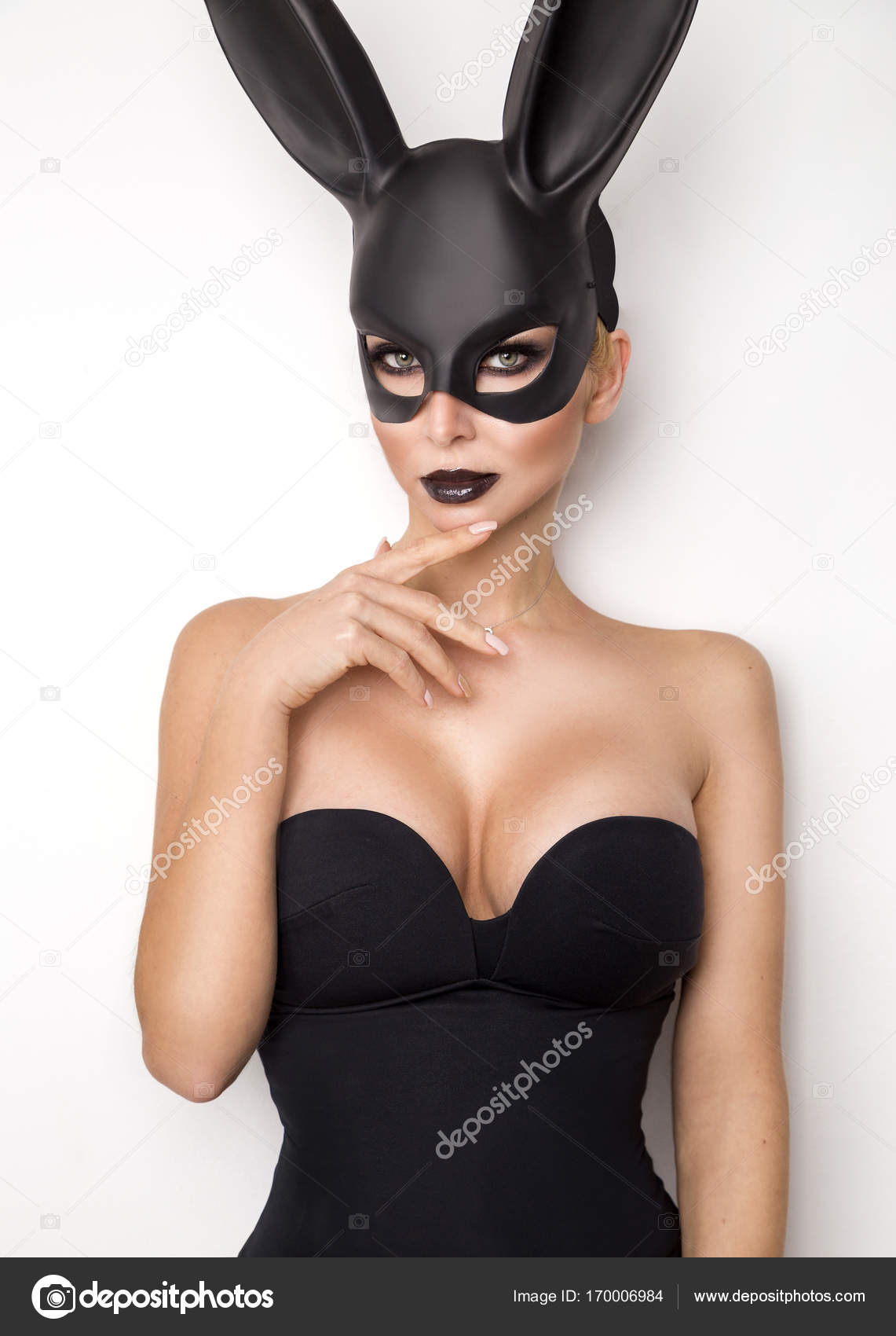 large sexy woman Black