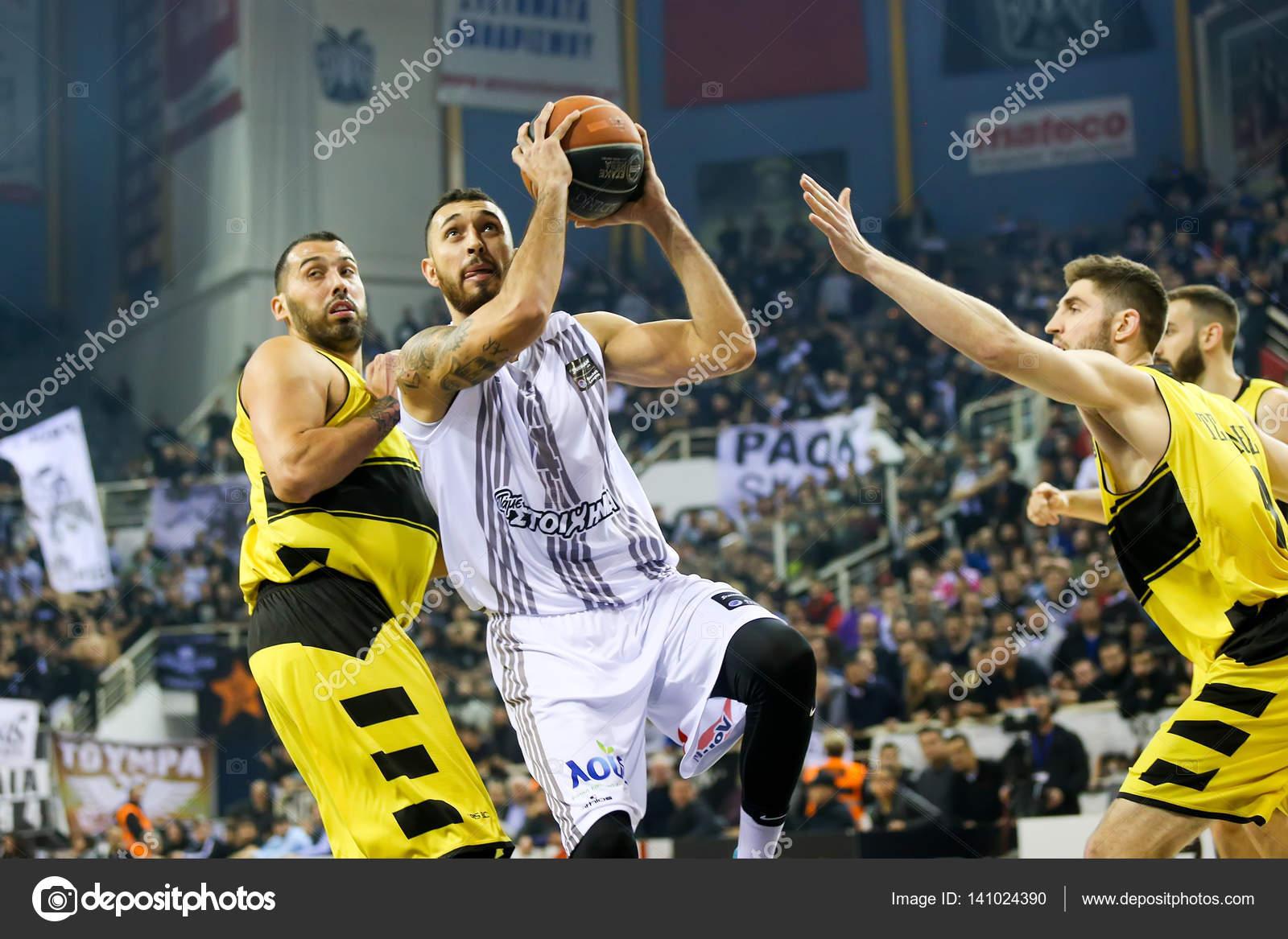 ギリシャのバスケット リーグ ゲ...
