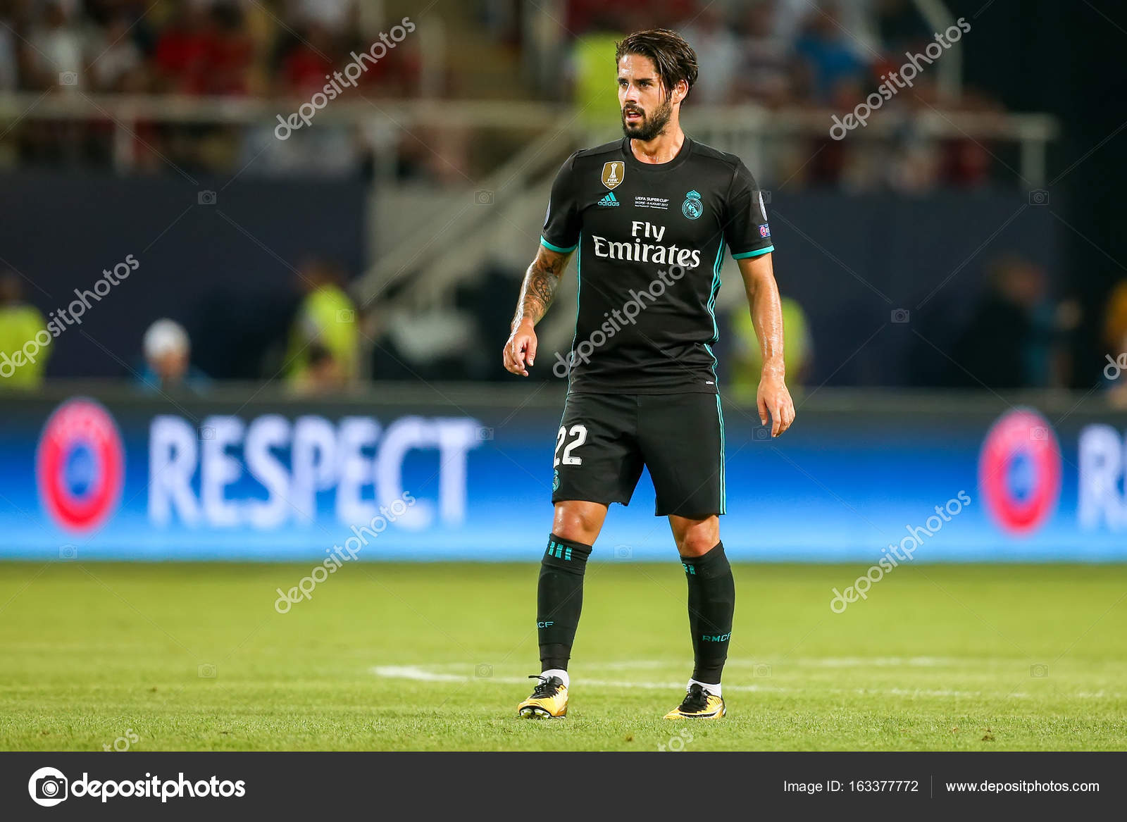 55a30e64a43 REAL MADRID V MANCHESTER UNITED  UEFA SUPER CUP – Stock Editorial ...