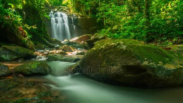 Timelapse of waterfall in Kota Kinabalu,Sabah,Borneo,Malaysia.