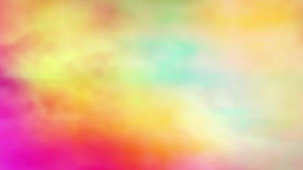 4k Bezešvé vícebarevné kouřové míchání pozadí