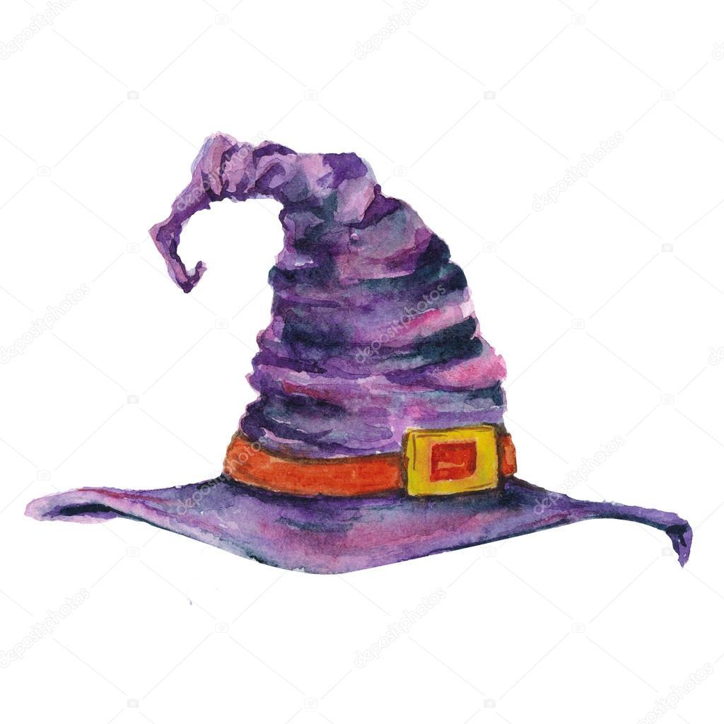 Image D Un Dessin Animé Chapeau De Sorcière Pour Halloween