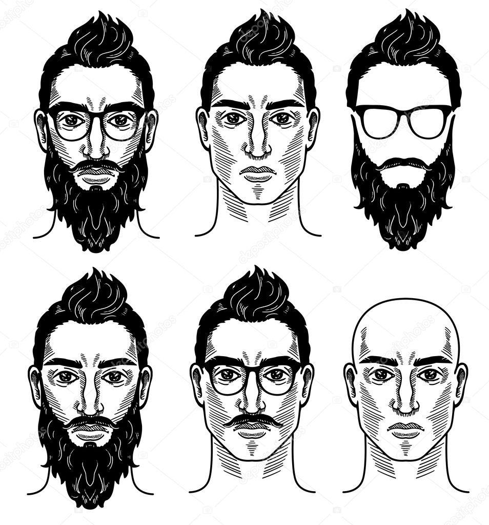 Vektor Vorlage für barbershop — Stockvektor © Helen_F #125881418