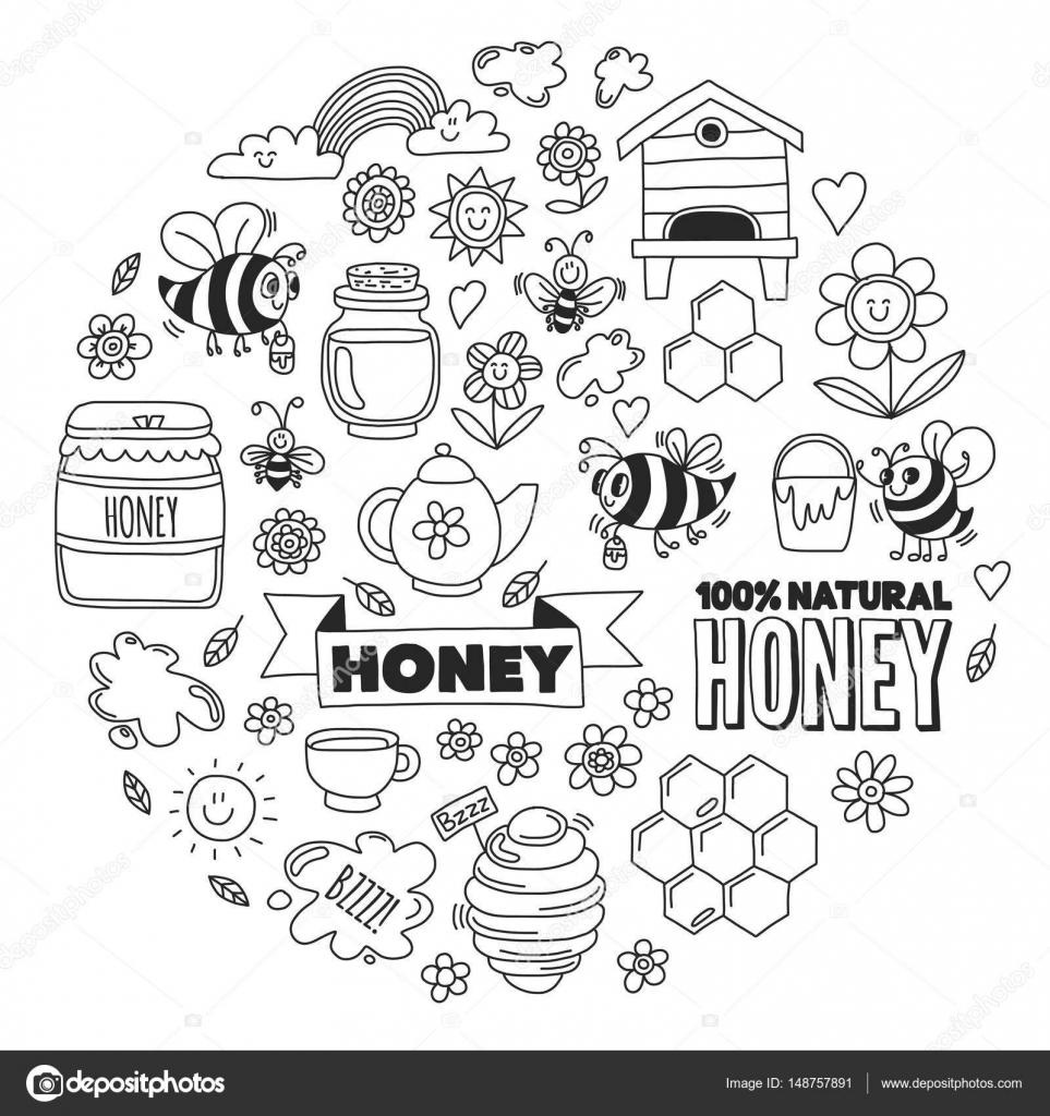 Arı Kovanı Boyama Sayfası Okulöncesitr L Preschool