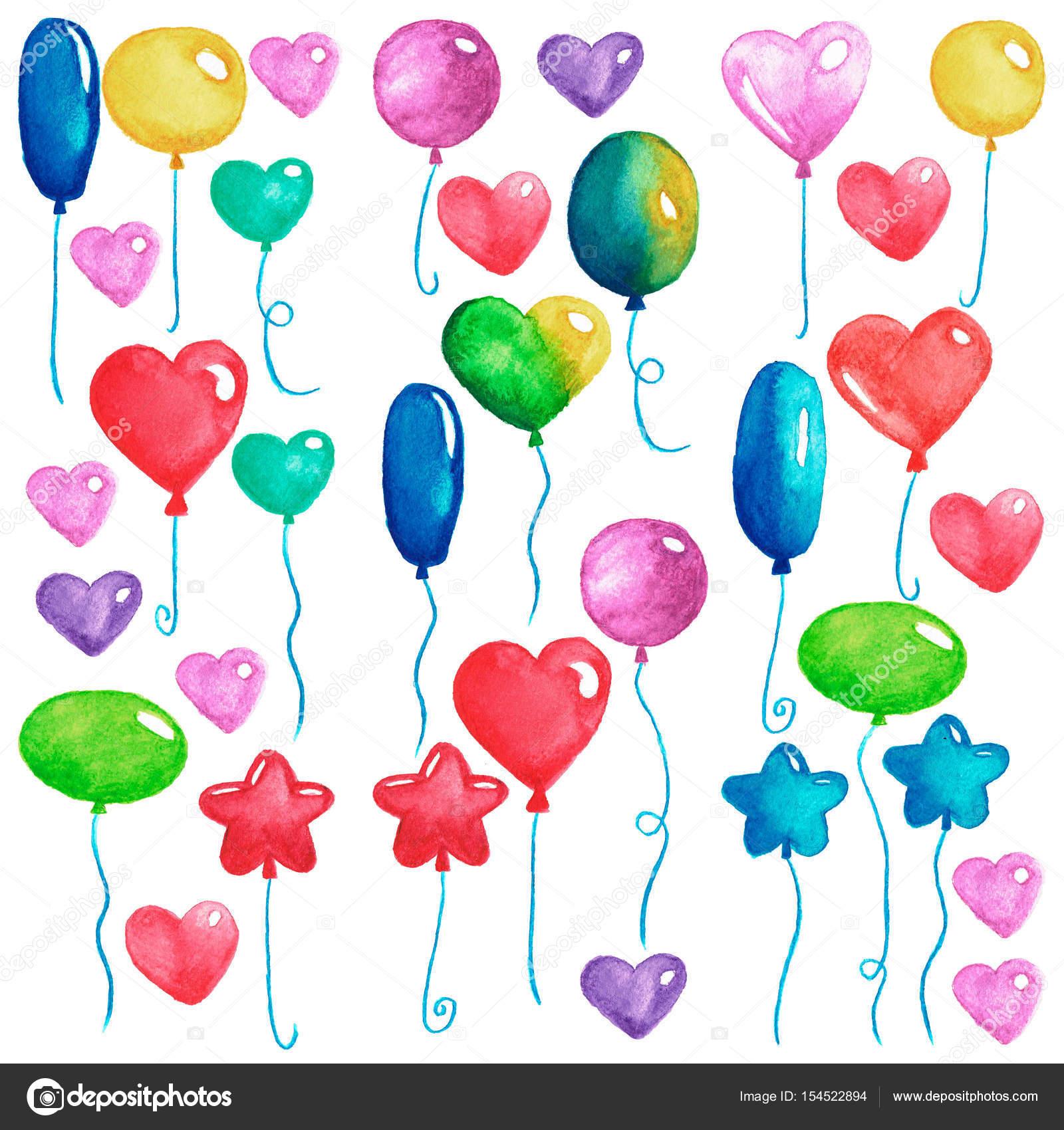 Открытки из воздушных шаров