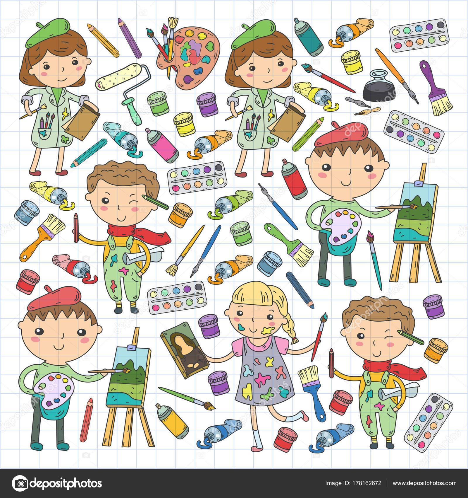 Creatividad de los ni os kindergarten escuela arte los - Pagine di ringraziamento e divertimento ...