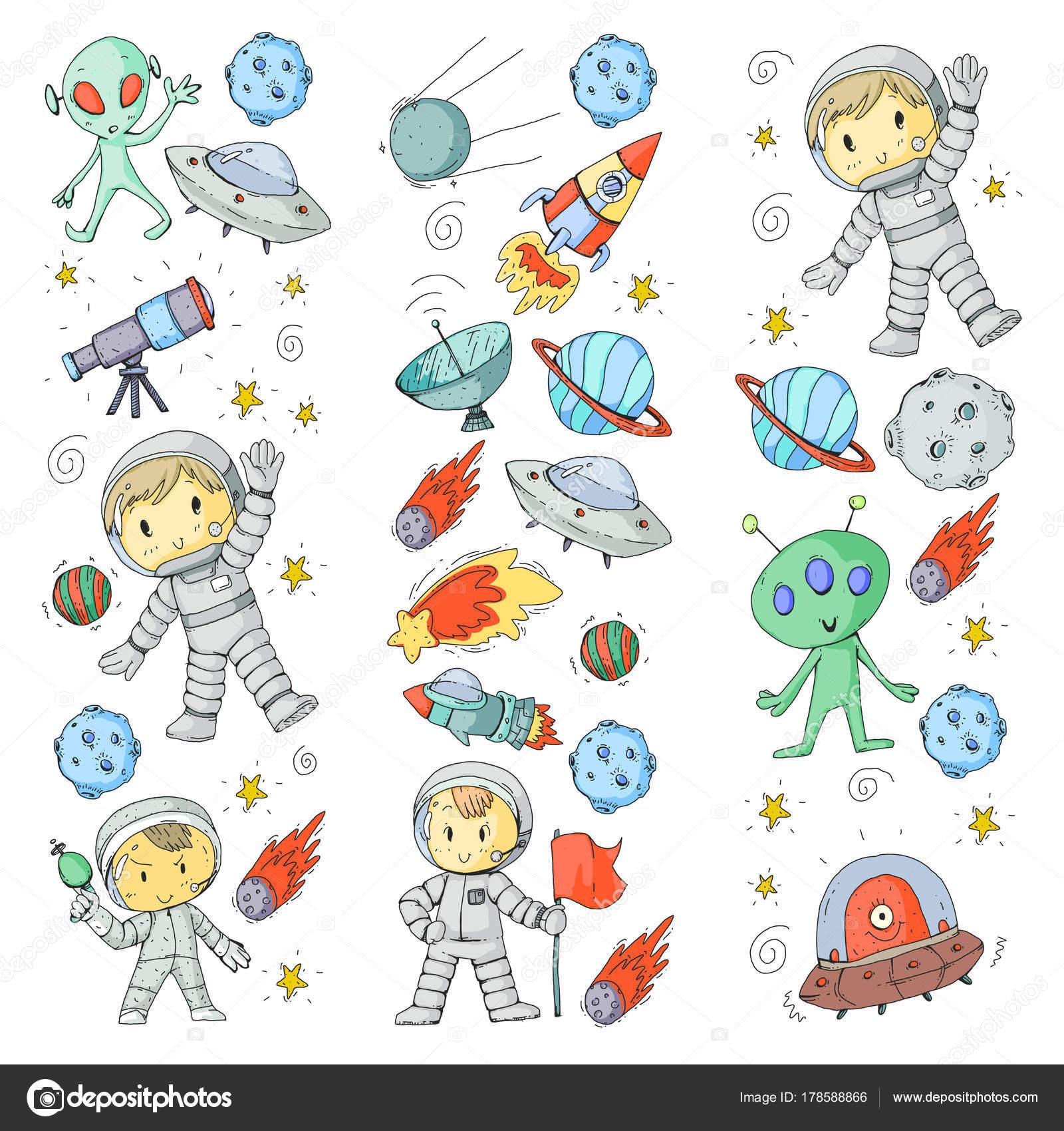 рисунки луны показать детские