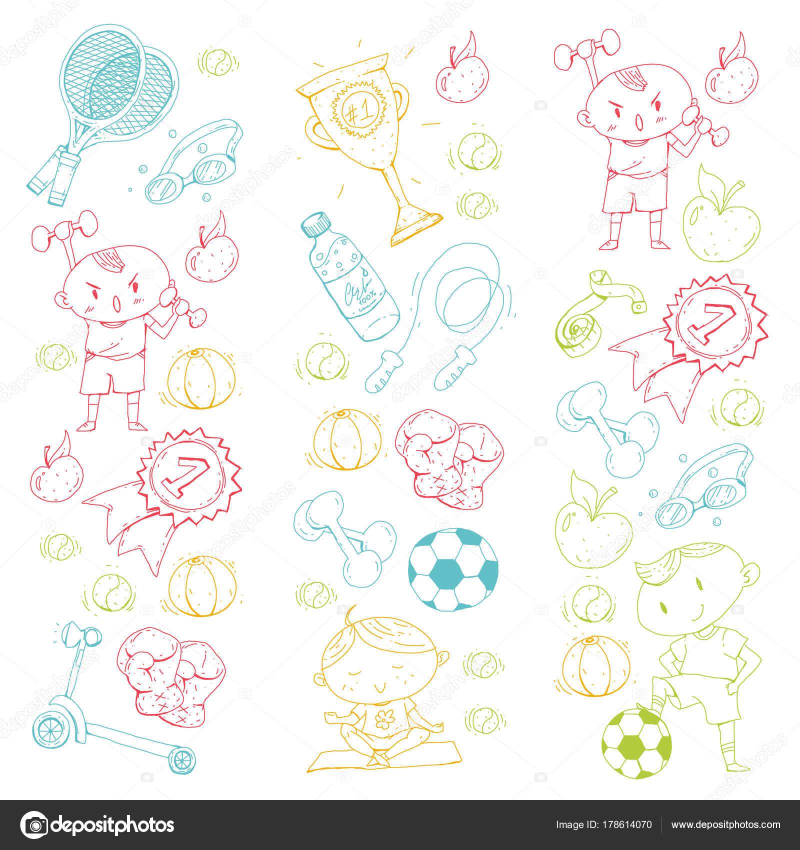 Рисунок детский футбол
