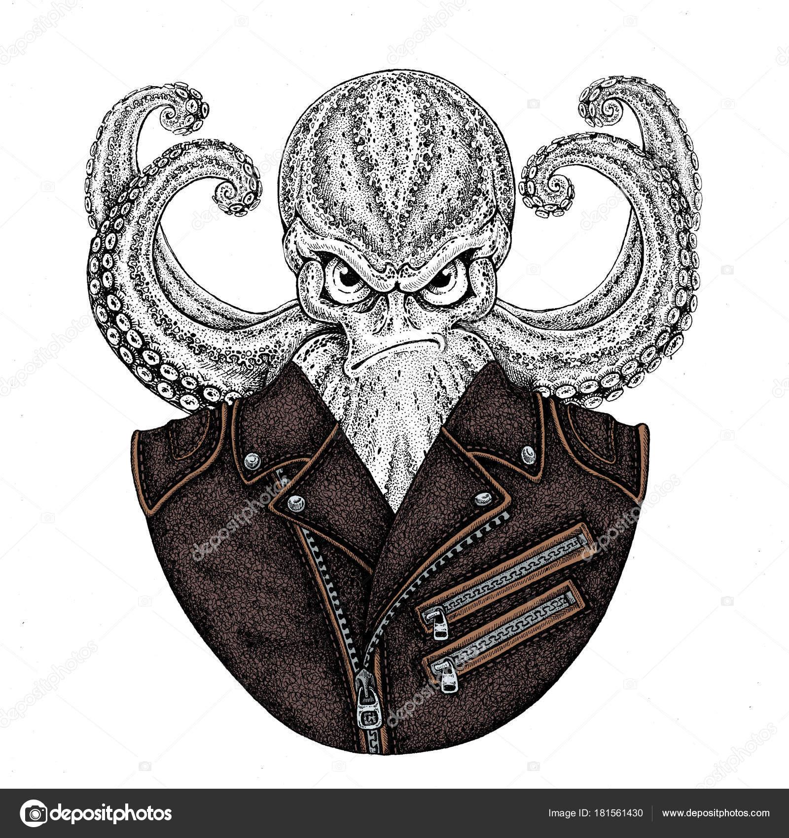 SailorNavy OctopusVintage OctopusVintage CharacterFantasy