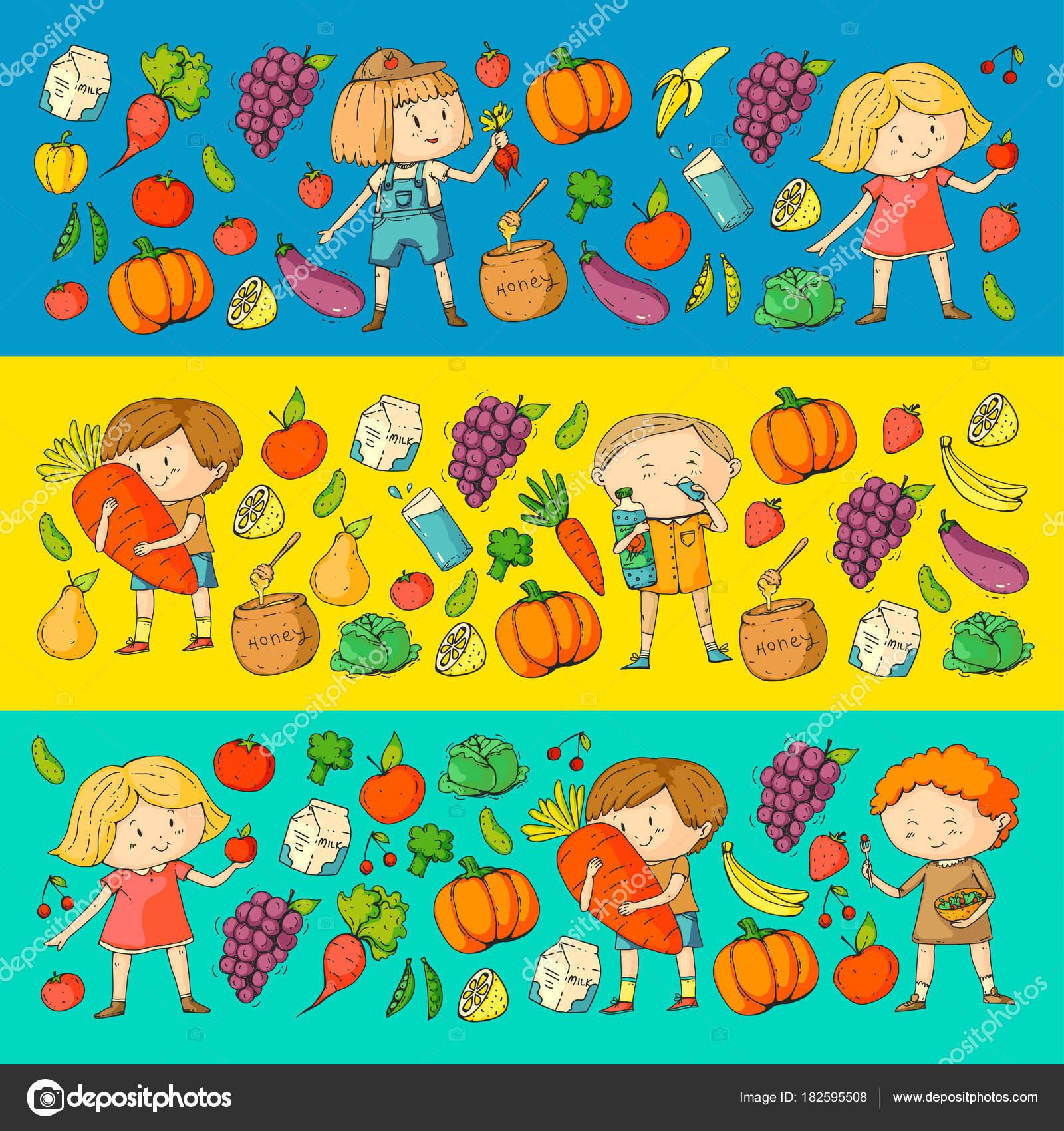 Children School and kindergarten Healthy food and drinks Kids
