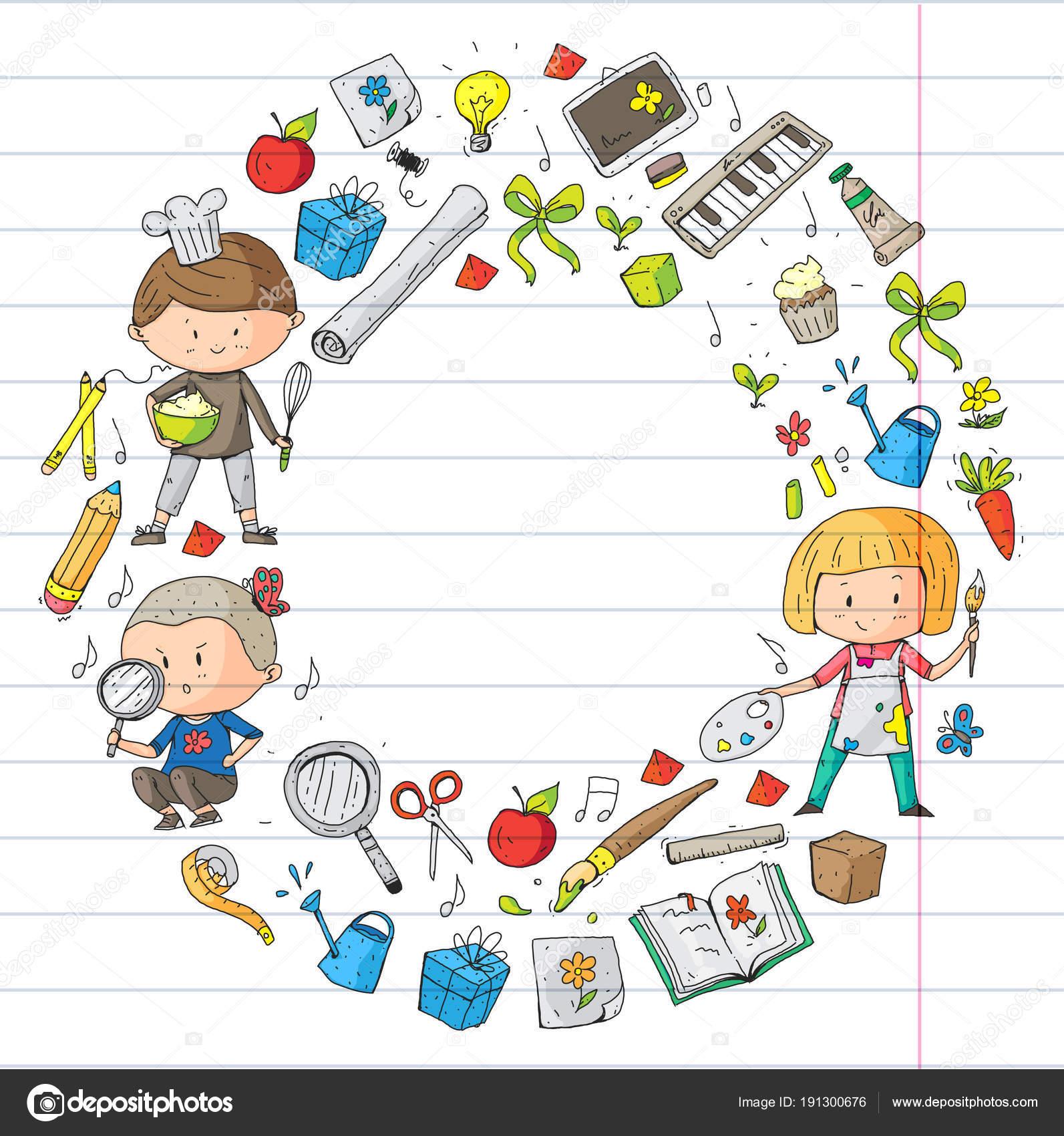 A los niños. Escuela y jardín de la infancia. Creatividad y ...