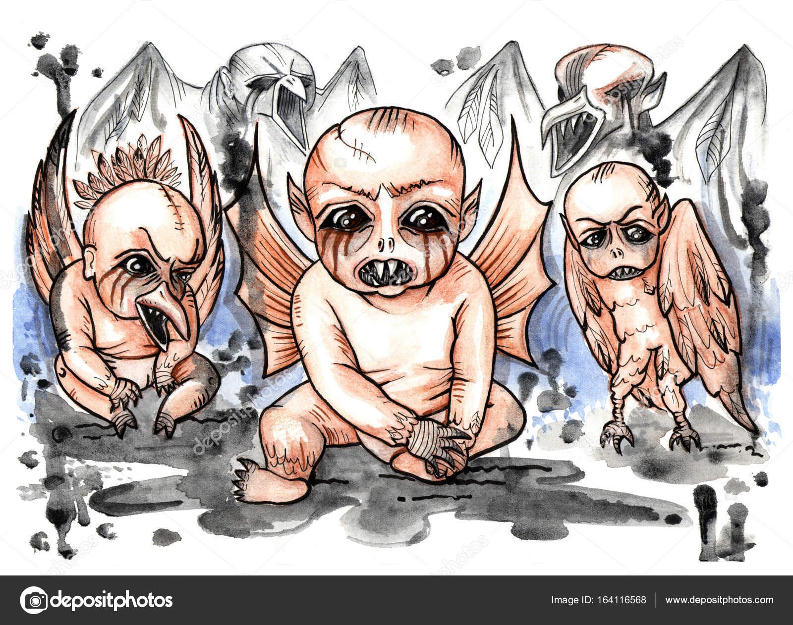 Секс с демонами в иллюстрациях