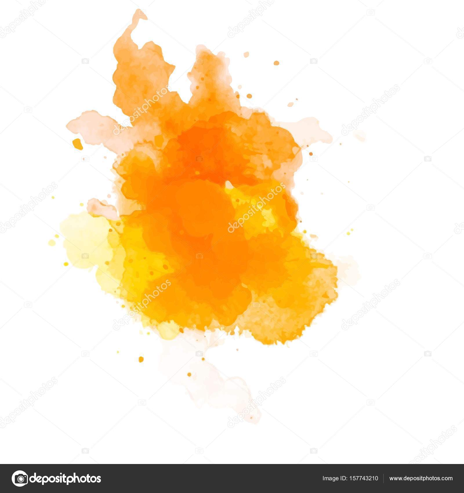 abstract art orange background digital painting color texture
