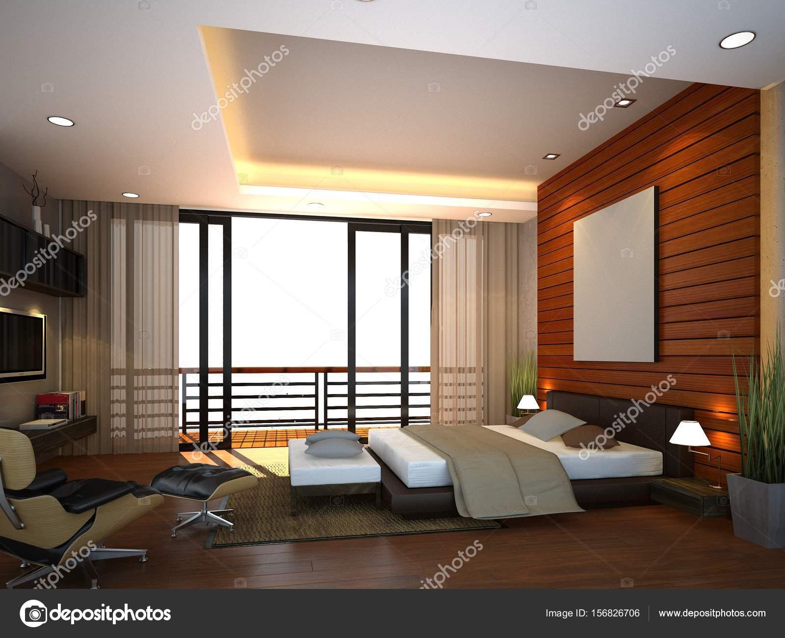 abstracte schets ontwerp van interieur slaapkamer 3d rendering foto van yaryhee
