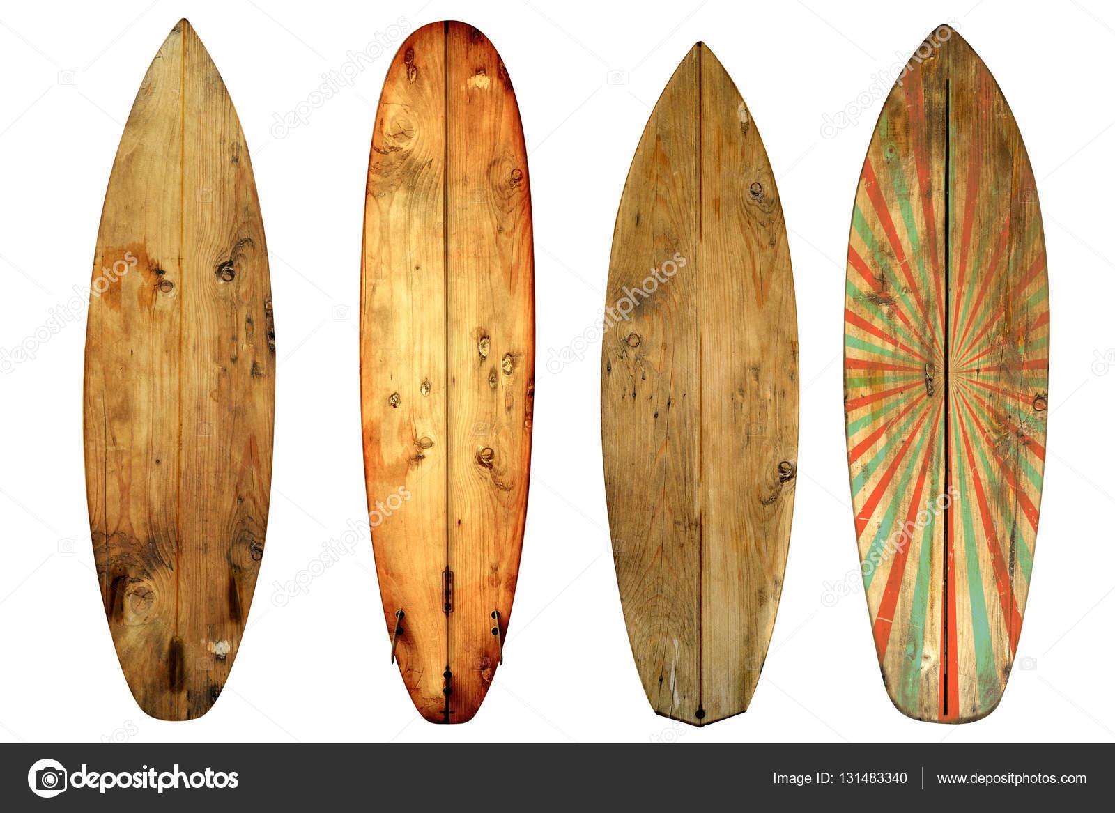 Tabla de surf vintage aislada sobre fondo blanco foto de - Fotos de tabla de surf ...