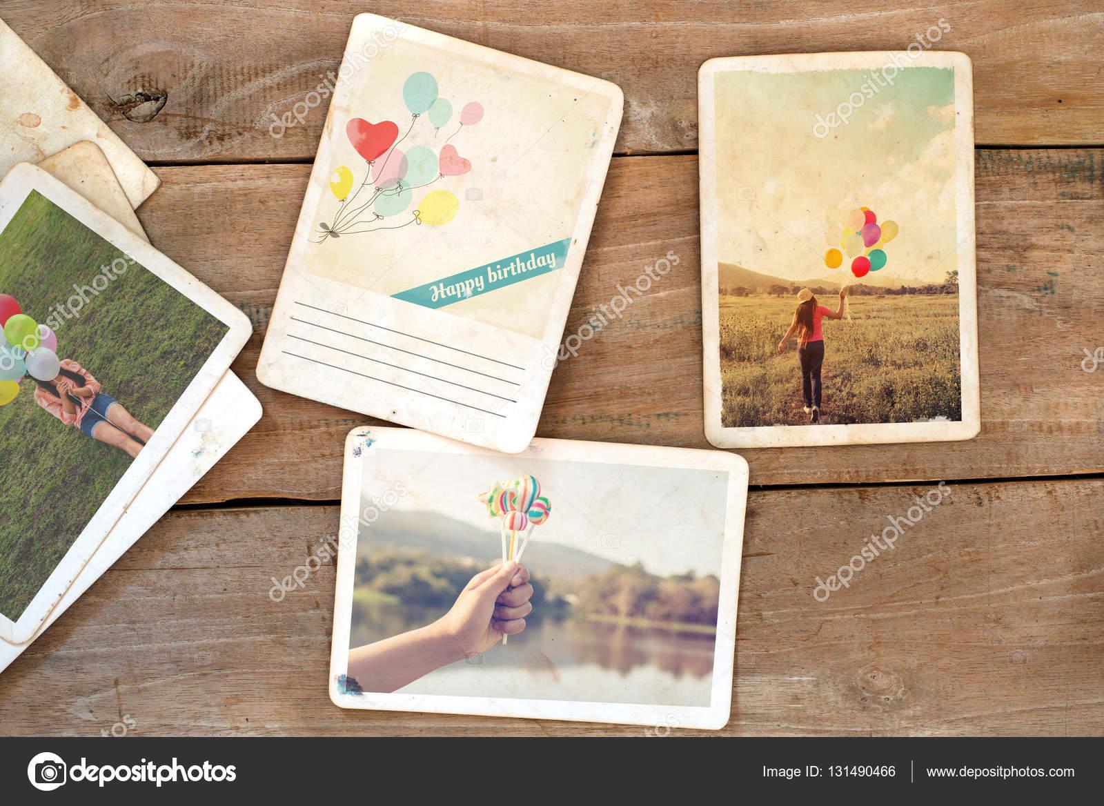 Carte Postale Joyeux Anniversaire Photographie Jakkapan 131490466