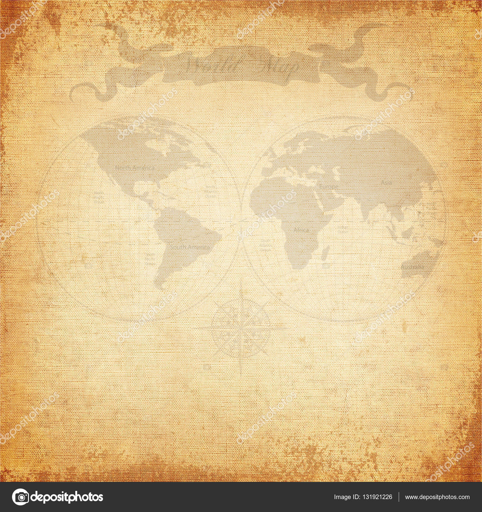 Old world map stock photo jakkapan 131921226 vintage background old world map with canvas texture photo by jakkapan gumiabroncs Gallery