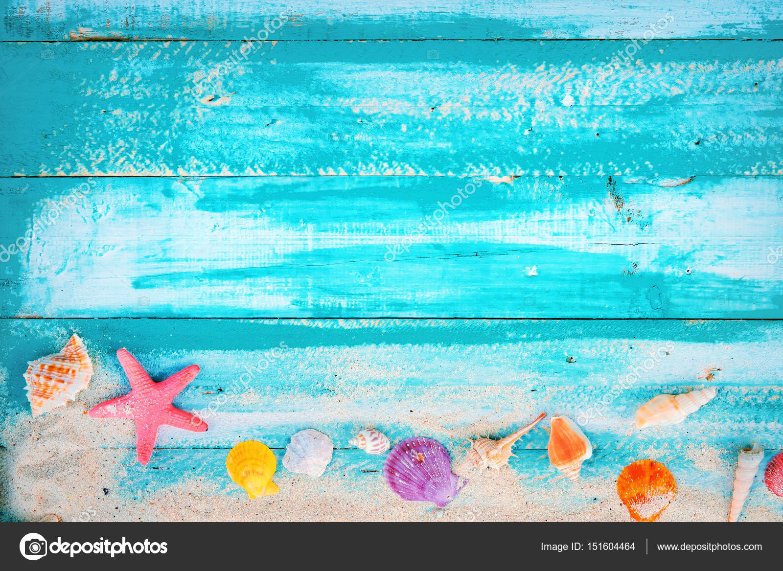 Vintage summer beach background — Stock Photo © jakkapan ...