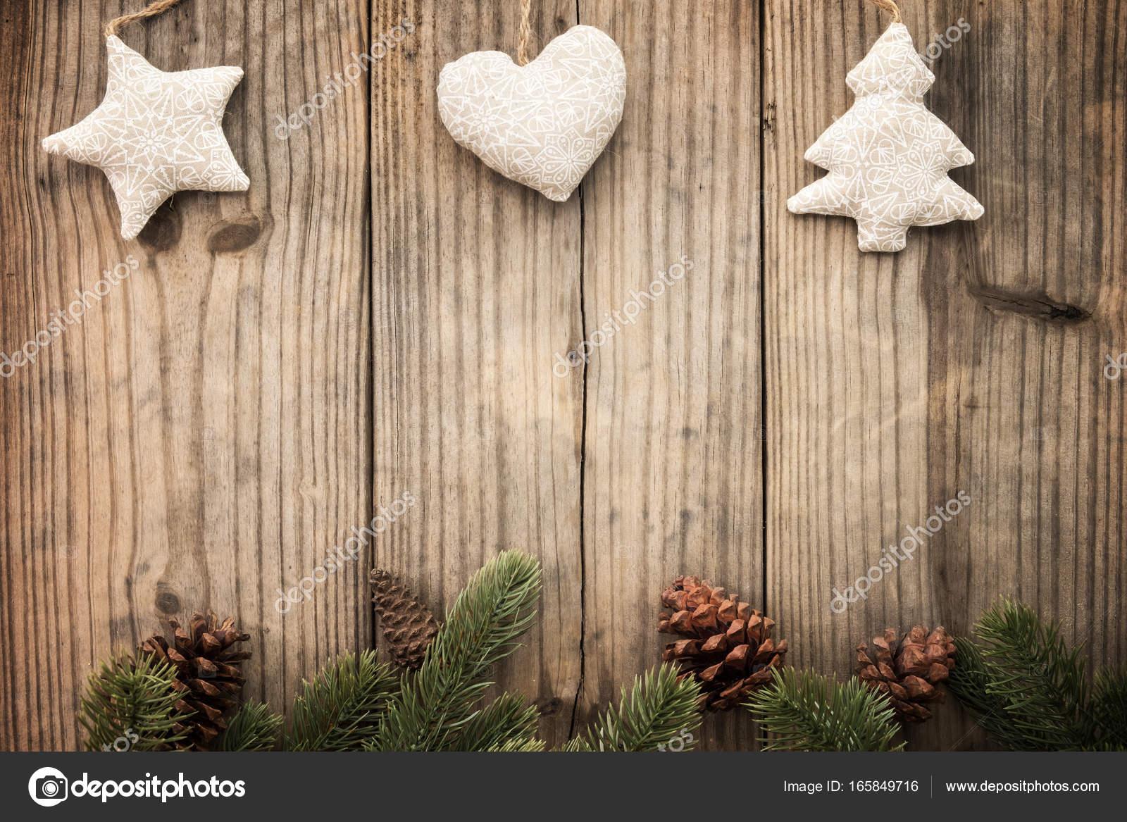 Weihnachten rustikalen Hintergrund — Stockfoto © jakkapan #165849716