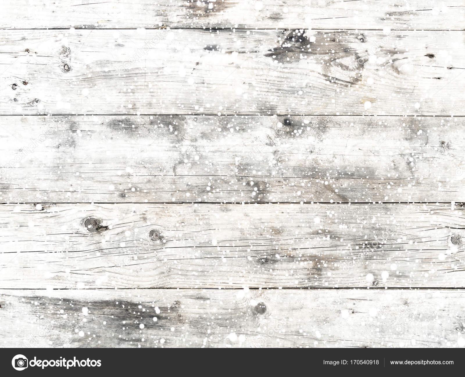 Old White Wood Texture With Snow Stock Photo C Jakkapan 170540918