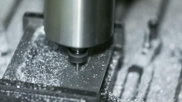 Close-up shot: Miller Cutting Aluminum: