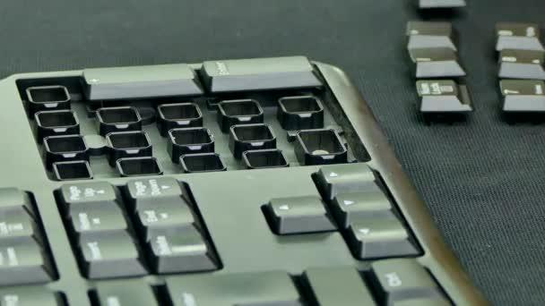 Jednotka, digitální klávesnice tlačítka. Rychle se pohybující